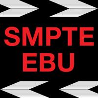 SMPTE EBU Universal Time Clapperboard, Digital Slate, Claquete Digital