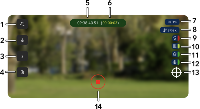 Camera Tracking PRO for iOS - Camera rotation and translation tracking for Maya, Blender, Premiere, Houdini, 3DS Max, Lightwave