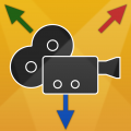 Camera Tracking PRO for iOS - Professional Camera Tracking for 3D applications like Blender, Maya, 3ds Max, LightWave, Cinema 4D, etc. Records camera rotation/translation to Collada & Maya files